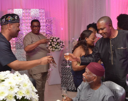 MR CHIAGOZIE HILARY-NWOKONKO'S BIRTHDAY RECEPTION